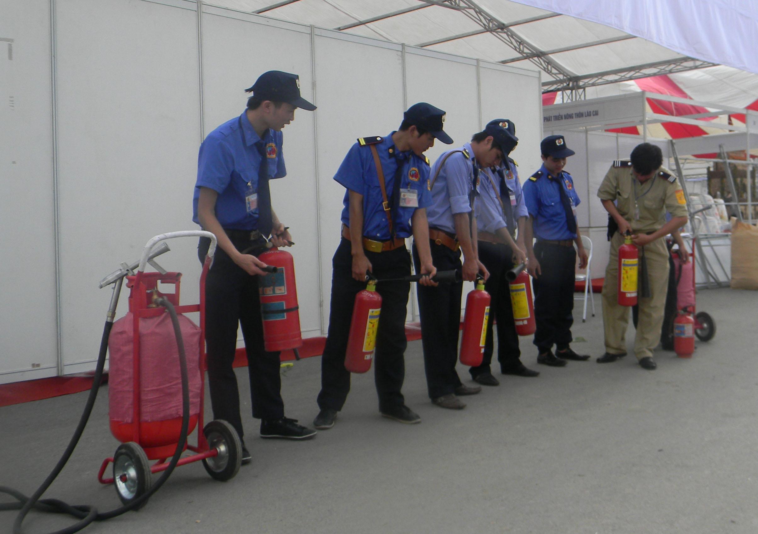 Kết quả hình ảnh cho chữa cháy nhân viên bảo vệ cần biết